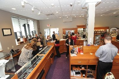 Charland Jewelers  - Bauble browsing again but this time at Charland Jewelers, Pittsfield!