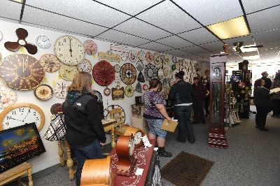 Inside West Side Clock Shop - Clocks make a great gift! Stop in to West Side Clock Shop, Pittsfield