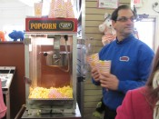 Slideshow Image - Popcorn served up by Bart Rasor, Owner