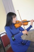 Bing Liu, Berkshire Trio provided music during the luncheon